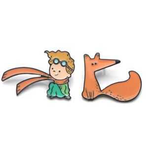 The Little Prince And The Fox Enamel Pin Le Petit Prince Cartoon Movie Lapel Pin Ebay