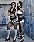 GAIL KIM & CHRISTY HEMME TNA WWE SIGNED AUTOGRAPH 8X10 PHOTO W/ PROOF