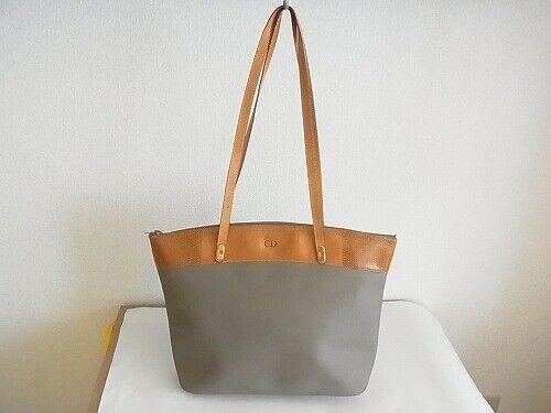 Auth RJ05 Christian Dior CD shoulder bag vintage t
