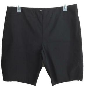 St-Johns-Bay-stretch-shorts-size-18-black-Bermuda-38-44-waist