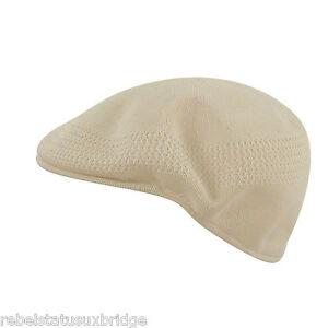 10080bd3878 KANGOL Hat 504 Tropic Ventair Summer Flat Cap 0290BC Natural Sizes ...