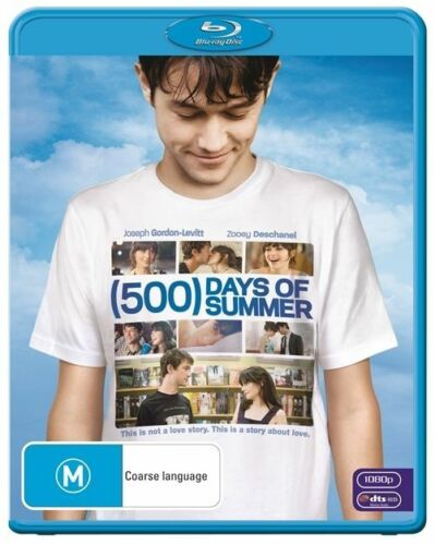 1 of 1 - 500 Days Of Summer..BLU RAY..NEW & SEALED  dvd279