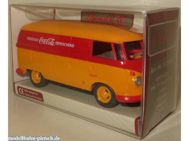 Wiking     Lemke LC22002  VW Kasten T1 Coca Cola  1 40, neu, OVP    Passend In Der Farbe  bfec82