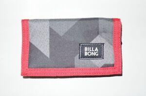 Original-BILLABONG-Wallet-Atom-grau-schwarz-NEU