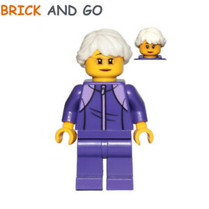 Grandfather Tracksuit NEUF NEW LEGO City Minifigure CTY1025 Grand-Père Jogging