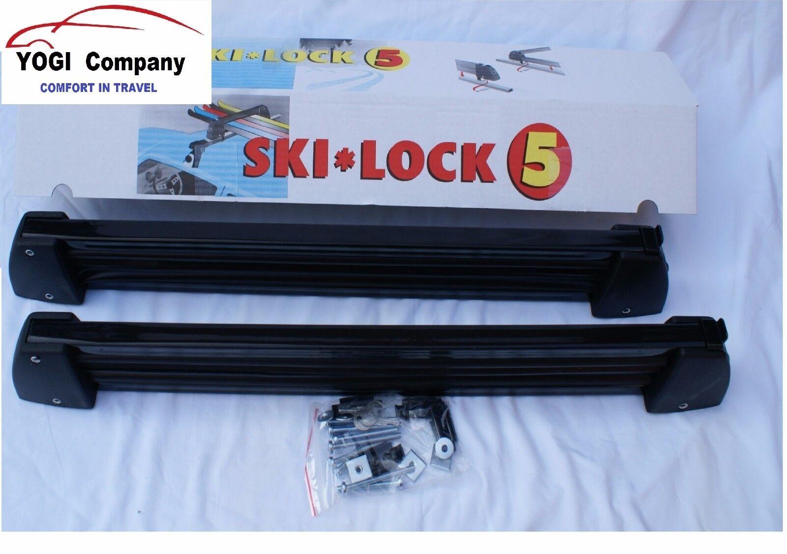 Ski Schloss X 2 Sperren / Snowboard Halter Träger Montage Sperren 2 S5 Dachträger Montiert 6a249f