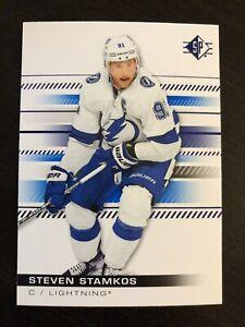 Steven Stamkos 2019-20 Upper Deck SP Authentic Blue #52 Tampa Bay Lightning
