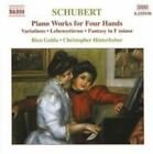 Schubert: Piano Works for Four Hands (CD, Mar-2004, Naxos (Distributor))