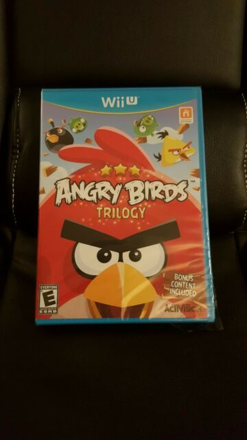 Brand New Open Sealed Angry Birds Trilogy Nintendo Wii U