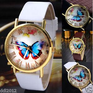 Ladies-Womens-Vintage-Leather-Band-Casua-Watches-Analog-Quartz-Wrist-Watch