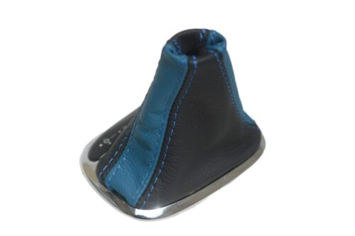 Automatic Boot Real Leather for Mercedes Benz Class C 01-09 Blue /& Black