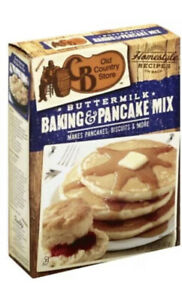 NEW Cracker Barrel CB Old Country Store Buttermilk Baking & Pancake Mix 32 oz