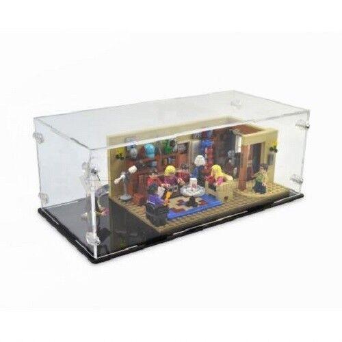 Acryl Vitrine für Lego 21302 The Big Bang Theory   - NEU