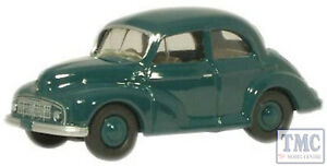 76MMS001 Oxford Diecast OO Gauge Morris Minor Saloon Green