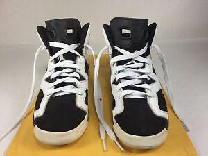 548f2278fae7fd Nike Air Jordan VI 6 Retro Oreo GS Sz 4y Carmine Infared Olympic ...