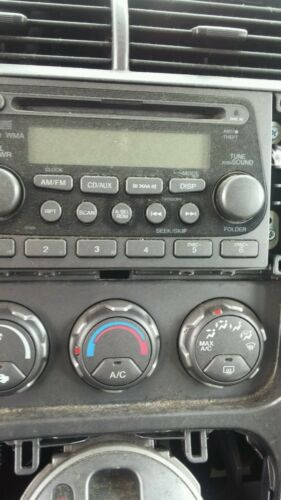 Code Available 2003-05 Honda Element Radio Receiver CD Player 2BW0 OEM am//fm