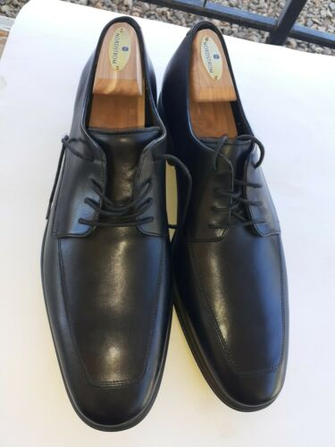 COLE HAAN Mens Black  Dress Shoes with Nike Air So