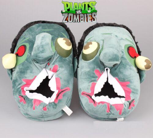 Zombie Plush Adult Unisex Slippers Warm Winter Shoes Halloween Christmas Slipper