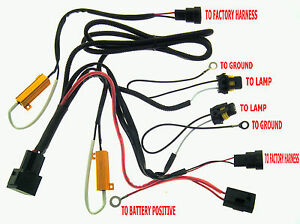 s l300 9005 9006 9140 9145 hid xenon fuse relay harness wire with hid wiring harness at virtualis.co
