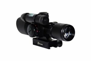 Precision-Tactical-Optics-2-5-10x32-Green-Laser-Scope-P14001-Brand-New