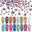 thumbnail 1 - 1000-Rhinestones-Crystal-Flat-Back-Resin-Nail-Art-Face-Gems-Crafts-Festival