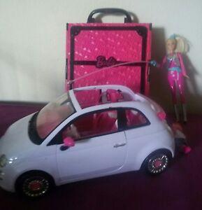 barbie auto fiat 500 weltraumbarbie und kleider koffer. Black Bedroom Furniture Sets. Home Design Ideas