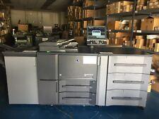 Konica Minolta Bizhub Press 1052 With Pf 703 Fs 532 Low Meter 623k Clicks