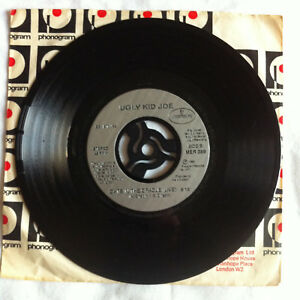 UGLY-KID-JOE-BUSY-BEE-CATS-IN-THE-CRADLE-LIVE-UK-7-034-MER389-VG-CONDITION