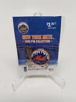 York Mets Logo With Baseball Bats Pin From Ny Times 2005 Collection