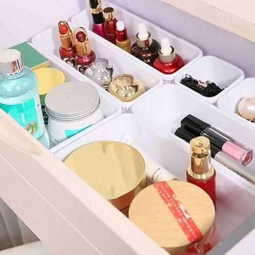 Bathroom-Storage Interlocking Narrow Drawer Make Up Organizer Storage