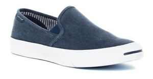 fc8395a132ae CONVERSE JACK PURCELL II SLIP ON SHOES SIZE MENS 10 NEW 153036C