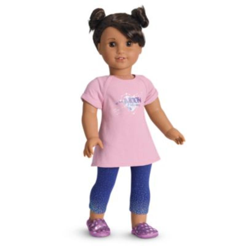 American Girl - Luciana's PJ'S - No Doll - Genuine ( See Description )