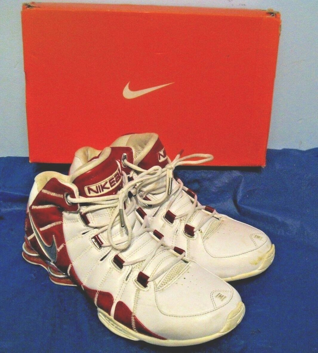 Nike Shox Basketball Indiana Final Four Undefeated Limited Edition Nike Flight