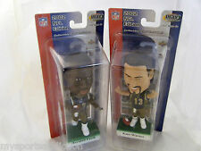 MARSHALL FAULK & KURT WARNER BOBBLEHEAD UD PLAYMAKERS ST. LOUIS RAMS NEW IN BOX