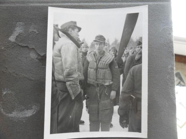 Foto luftwaffe Kommandeut KG77  Stemmler  Wilhelm schwimmweste sonderbekleidung