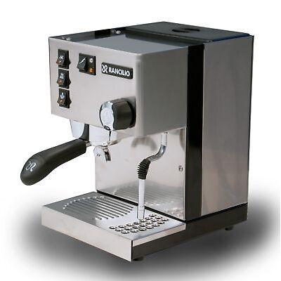 Rancilio Silvia E Siebträger, Espressomaschine