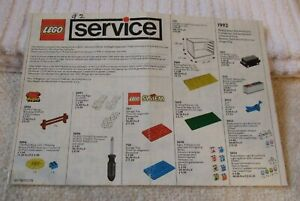 LEGO-034-VINTAGE-034-BOOKLET-LEGO-PARTS-CATALOGUE-BOOKLET-YEAR-1992-101178