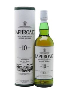 Laphroaig 10 Jahre Islay Single Malt Scotch Whisky 0,7l, alc. 40 Vol.-%