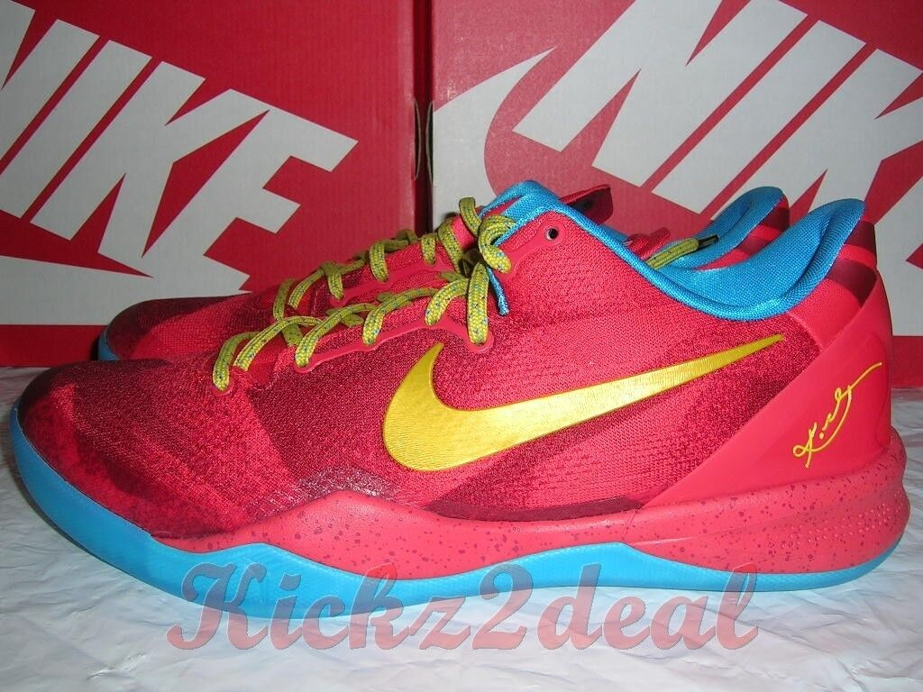 buy online 42efb d96b3 new NEW NIKE KOBE 8 SYSTEM YOTH Year of the Horse MENS 11 Crimson Citron