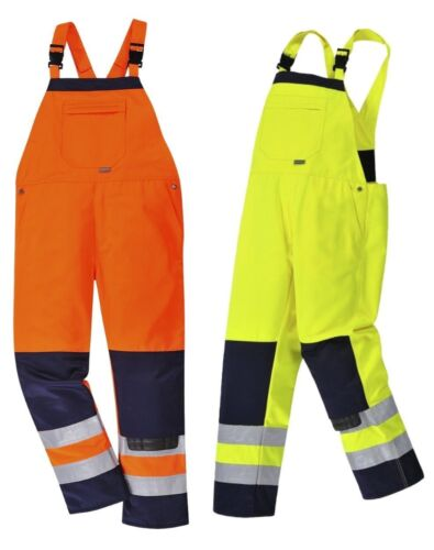 Portwest TX72 Girona Giallo o Arancione Workwear Hi-Vis Tuta con bretelle Piccolo 3XL