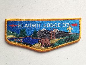 ELAUWIT-OA-LODGE-37-BSA-SCOUT-FLAP-SERVICE-PATCH-YELLOW-BORDER-TOUGH