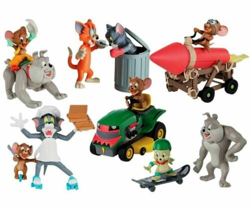 OFFICIAL LICENSED TOM /& JERRY FIGURE COLLECTION PACKS ALL 6 PACKS NEW SEALED
