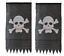 2-x-PIRATE-JOLLY-ROGER-SKULL-amp-CROSSBONES-FLAG-86-x-43cm-PARTY-PENNANT-BUNTING thumbnail 1