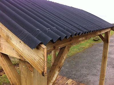 Onduline Roofing Sheets In Black 07940912751 Ebay