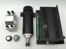 450W DC Spindle Motor 12-52V&MACH3 Power Supply&Bracket for CNC Milling Machine