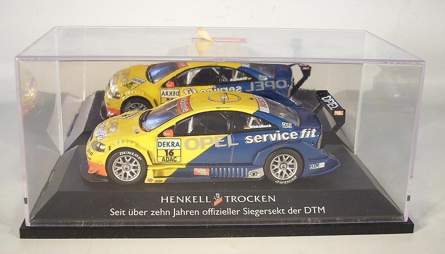 Schuco 1/43 OPEL ASTRA v8 Coupe DTM 2003 HENKELL secco pubblicitari modello i box  5086