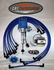 dual point holley distributor ford y block 272 292 312 ebay rh ebay com Ford HEI Distributor Wiring Diagram Ford Electronic Ignition Wiring