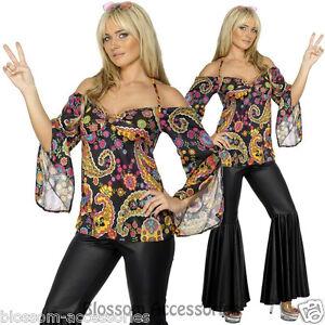 Image Is Loading CL418 Hippie 1960s 1970s Retro Girl Disco Dancing