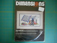Dimensions counted cross stitch kit Amish Breezy Day NIP