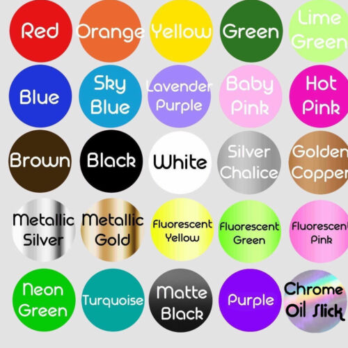 """97.5/"""" Multiple Color Graphics for Tahoe Suburban Car Racing Art Decal Sticker"""